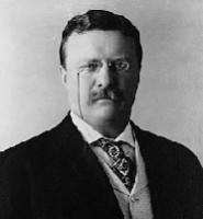 US President Theodore Roosevelt