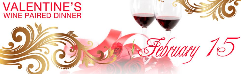Valentines Wine Paired Dinner