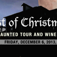 CHOST OF CHRISTMAS PAST TOUR AND WINE TASTING