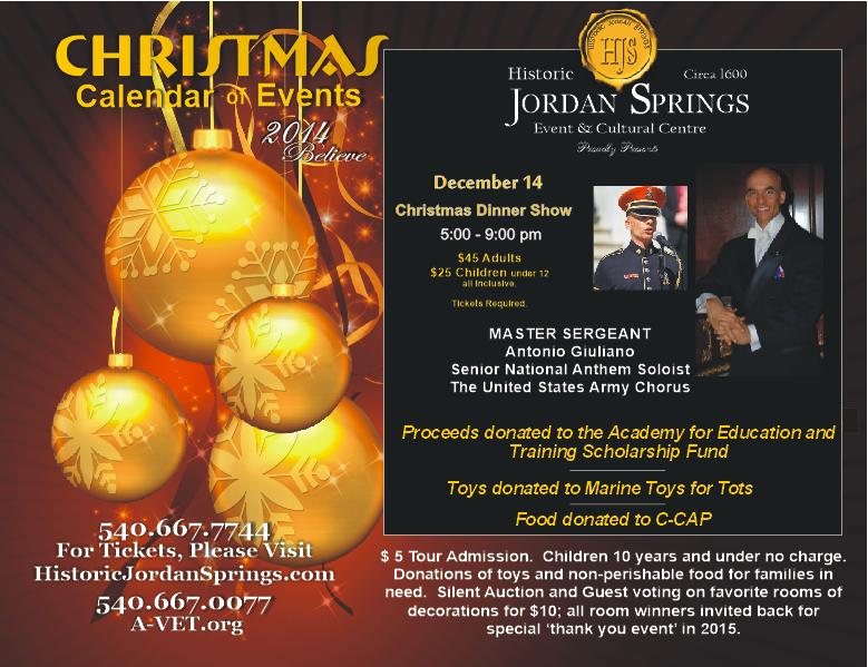 CHRISTMAS DINNER SHOW